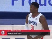 ANGEL LUIS DELGADO ASTACIO … Hace Su Debut En El Baloncesto De La NBA … Pierden Los Clippers En La Ruta.!!!