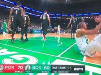 ALFRED JOEL HORFORD REYNOSO … Y Boston Celtics … Enviados A La Lona En Su Hogar … Caen Ante Portland Trail Blazers.!!!