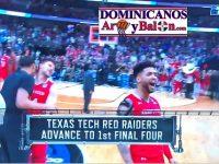 BRANDONE EDWARD FRANCIS RAMIREZ … Y Su Univ. TEXAS TECH … Avanzan A Los Cuatros Finales … NCAA, Locuras De Marzo 2019.!!!