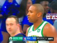 ALFRED JOEL HORFORD REYNOSO … 'INMENSO' En Filadelfia … Caen Ante Los 76ers.!!!