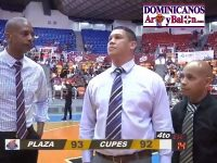 Baloncesto Superior Santiago … En Triunfo Plaza Valerio … Partido Le Quedo Grande A Cuerpo Tecnico CUPES.!!!