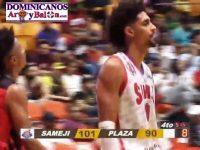Baloncesto Superior Santiago … Inicio Playoffs Round Robin, Marzo 6, 2019 … Sameji Derrota Plaza Valerio.!!!