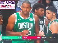ALFRED JOEL HORFORD REYNOSO … Esplendido En Florida … Boston Celtics Derrotan Miami Heat … Galeria De Fotos.!!!