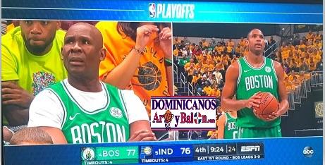 ALFRED JOEL HORFORD REYNOSO … Su Padre En Las Graderias … Imparte Clase De Baloncesto … Avanza Boston Celtics … Galeria De Fotos.!!!