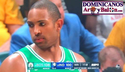 ALFRED JOEL HORFORD REYNOSO … Su Padre En Las Graderias … Imparte Clase De Baloncesto … Avanza Boston Celtics.!!!