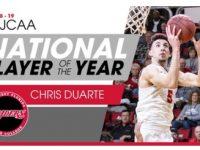 CHRIS DUARTE … Junior College Jugador Del Año … 2018 – 2019 … Un Logro Extraordinario.!!!