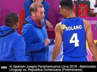 Seleccion Nacional De Baloncesto … Ante Un Conjunto Uruguay De Cualidades Subalternas … Alcanza Su Pase Al Cuadro De Medallas.!!!