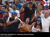 JUBILO …!!!   Republica Dominicana Elimina Alemania … Copa Mundial FIBA 2019 … La Fanaticada Respalda.!!!