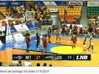 Liga Nacional De Baloncesto … RECOOOOOOOJAN … Llegan Los Monstruos Men … Metros De Santiago Pisotean Leones de Santo Domingo.!!!