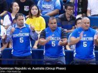 Seleccion Nacional De Baloncesto … Batallado En Inicio 2da Ronda … Dominicana Cae Ante Australia … La Fanaticada Respalda.!!!