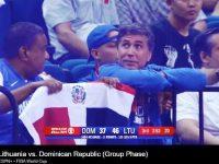 Seleccion Nacional de Baloncesto … Con Derrota Ante Lituania .. Republica Dominicana Finaliza Participacion FIBA Copa Mundial, CHINA 2019 … La Fanaticada Respalda.!!!