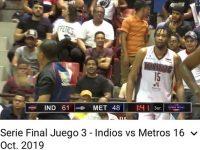 Indios Derrotan Metros En San Francisco De Macoris .. Colocan 2 – 1 A Su Favor … Serie Final LNB 2019 … Galeria De Fotos.!!!