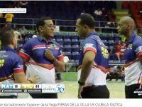 Baloncesto Superior LA VEGA 2019 … Club La Matica Continuan Impresionando … Derrotan Club La Villa.!!!