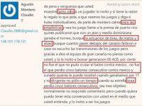 AGUSTIN MONTERO CLAUDIO … Que 'JODER' … Un 'BABIECA' Mas.!!!