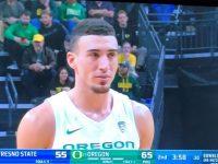 CHRIS DUARTE … Nos Impresiona En Su Debut Baloncesto NCAA … Univ. Oregon Derrota Univ. Fresno State … Galeria De Fotos.!!!