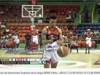 Baloncesto Superior LA VEGA … Club DOSA Iguala A Un Partido Bando … Serie Final 2019 … Derrota Club Enriquillo.!!!
