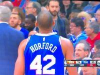 ALFRED JOEL HORFORD REYNOSO … Espectacular En Triunfo Filadelfia 76ers … Derrotan Denver Nuggets … Galeria De Fotos.!!!