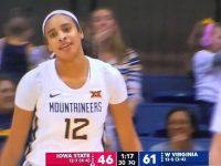ESMERY MARTINEZ … En Triunfo De Su Universidad WEST VIRGINIA … Muestra Potencial De Futura Jugadora WNBA … Galeria De Fotos.!!!