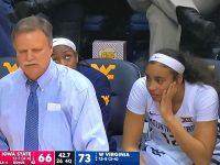 ESMERY MARTINEZ … En Triunfo De Su Universidad WEST VIRGINIA … Muestra Potencial De Futura Jugadora WNBA.!!!