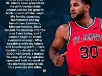 LIONEL J FIGUEROA … Se Declara Para El Draft NBA.!!!!
