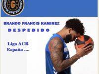 BRANDONE FRANCIS RAMIREZ … DESPEDIDO … El Conjunto ACUNSA GBC .. Liga ACB … ESPAÑA.!!!