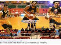 BALONCESTO SERIE FINAL SANTIAGO 2020 … Primer Partido … Club Gregorio Urbano Gilbert  Atropella Club Club Pueblo Nuevo … Sin Misericordias Algunas.!!!