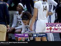 ESMERY 'la niña maravilla de Hato Mayor' MARTINEZ … En Su Mejor Partido NCAA .. Contribuye 'ENORMEMENTE' Al Triunfo De Su Univ. WEST VIRGINIA.!!!