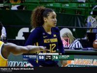 ESMERY 'la niña maravilla de Hato Mayor' MARTINEZ … Y Su Univ. WEST VIRGINIA … Caen Ante Las Actuales Campeonas NCAA … Univ. BAYLOR.!!!