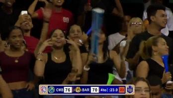 Baloncesto Superior ABADINA 2018 … 2do Partido Serie Final … La Fanaticada Respalda.!!!