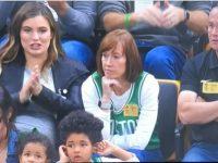HORFORD y AMELIA'S Children … Embellecen El TD GARDEN … Apertura NBA 2018 – 2019.!!!