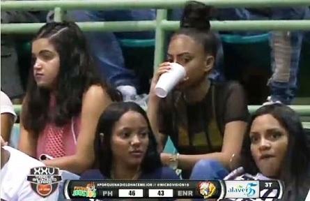 Baloncesto Superior LA VEGA … 2do Partido Semi-Final Doble Jornada 11/18/2018 … La Fanaticada Respalda.!!!