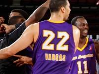 El Dominicano Eloy Vargas Y Los Angeles Caen NBA D-League.!!!