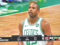 ALFRED JOEL HORFORD REYNOSO … Guia El Triunfo Boston Celtics … Partido Inaugural NBA 2018-2019.!!!