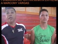 Fundacion Minaya Entrena A Marcony Vargas.!!