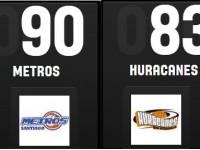 Metros Igualan Titanes De Boyon, Continuos Pases Final LNB.!!!