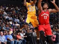 El Dominicano Ronald Roberts Santos Jr Acciona En Triunfo Toronto NBA.!!!