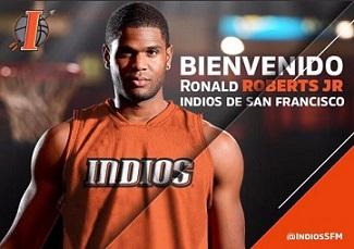 Ronald Robert Jr … Adquirido Por Los Indios De San Francisco De Macoris … LNB.!!!