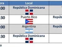 Dominicana…Calendario Segunda Ronda.!!!