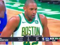 ALFRED JOEL HORFORD REYNOSO .. Magnifico … Boston Celtics Derrota New York Knicks.!!!