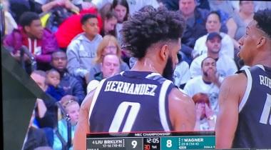 JOEL HERNANDEZ … Una Super Estrella … Le Otorga LIU El Ticket A Las Locuras De Marzo.!!!