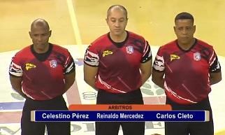 Arbitraje Colosal … Reynaldo Mercedes Demuestra No Se Envian Muchachos Hacer Trabajos De Hombres.!!!