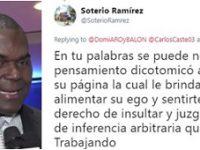 SOTERIO RAMIREZ … Un Secuaz Mas … Entre Los Desvergonzados Que Rigen Nuestros Deportes.!!!