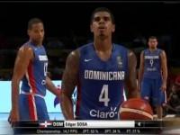 La Republica Dominicana Cae Ante Argentina…Fiba Americas 2015.!!!